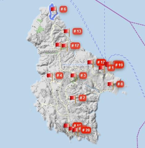 Kythira Wanderwege auf GPSies - AllTrails