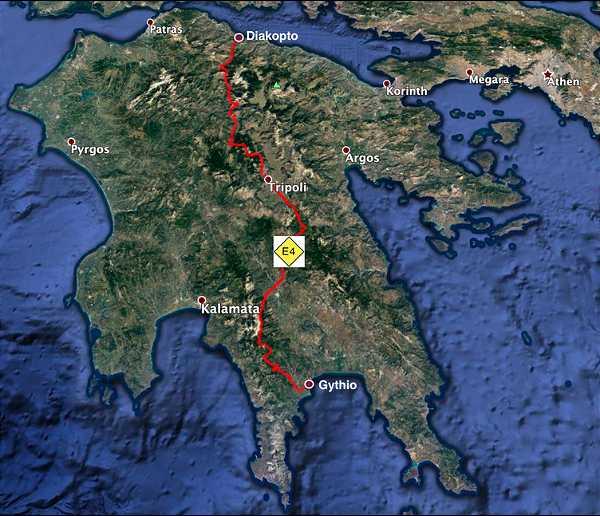 Fernwanderweg E4-Peloponnes